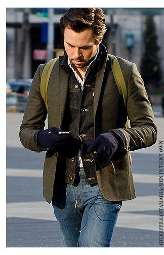 Denim Jacket Under Blazer Smart Casual Wear For Men Denim Jacket