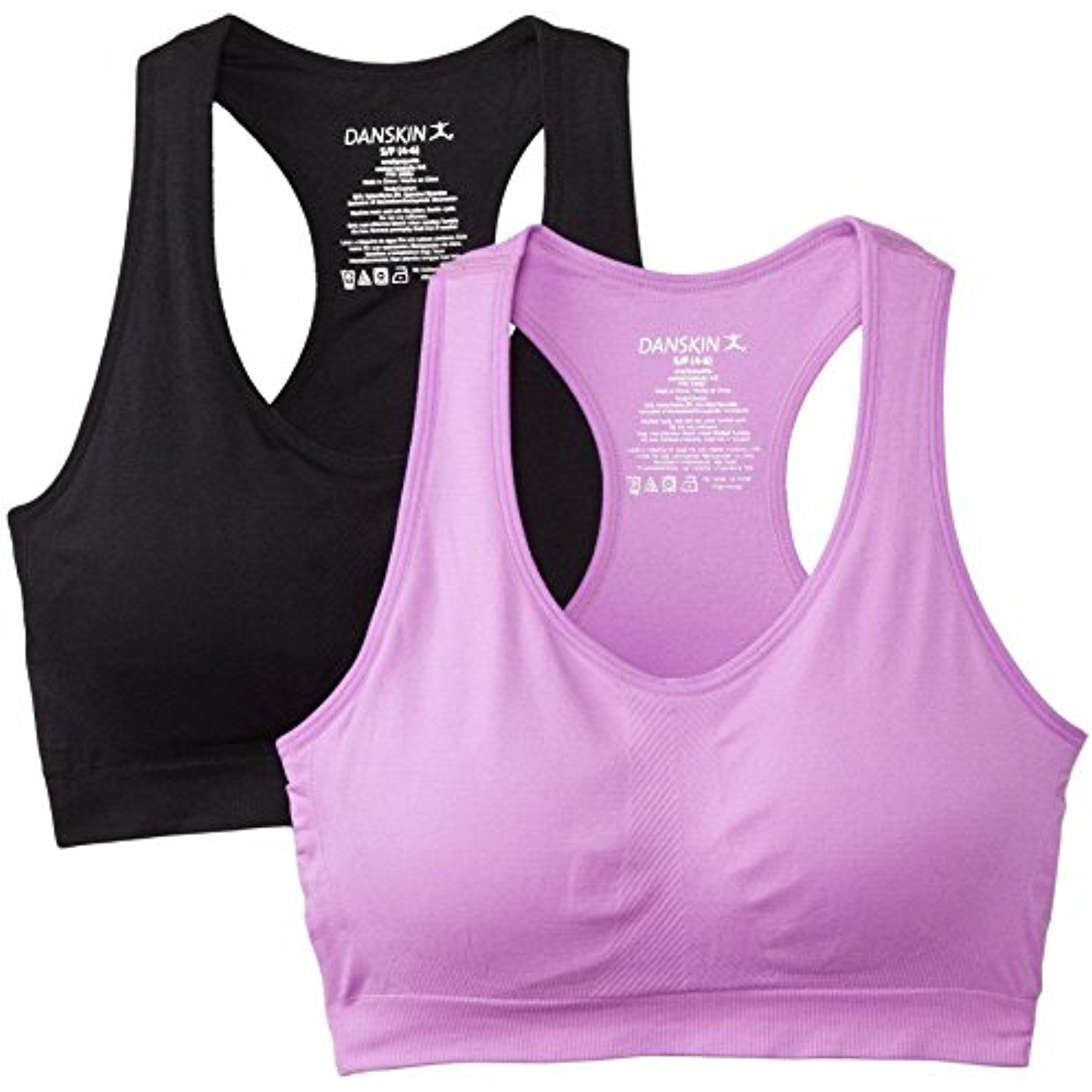 Women's TwoPack Seamless Sports Bra Click image for