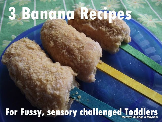 3 Banana Recipes for Fussy Toddlers! - The Empowered Educator