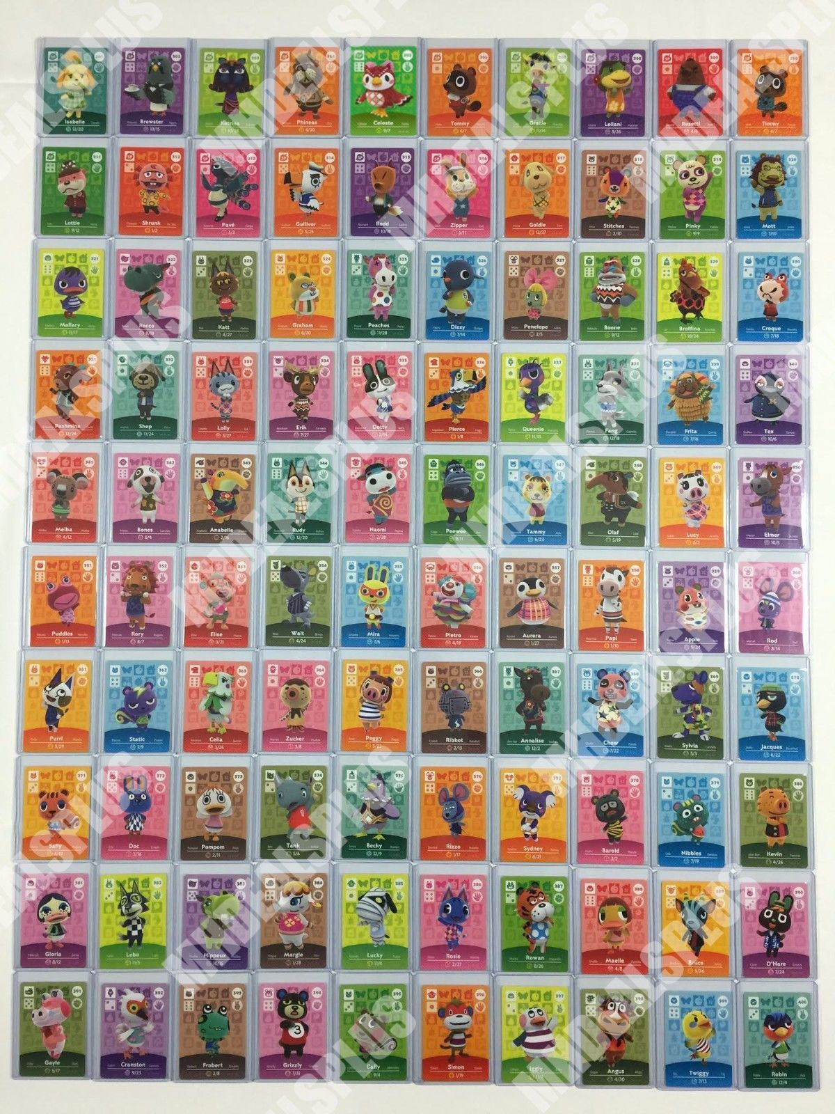 10+ Animal crossing amiibo cards full set images