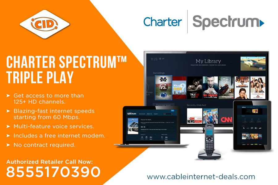 Charter Phone Service >> Pin By Cableinternet Deals On Charter Spectrum Internet