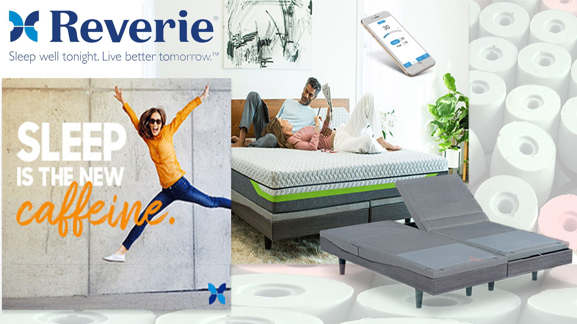 Reverie Mattress are Made In The USA, they are customized
