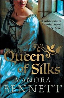 Tudor - Elizabethan Recycled Costumes.....Queen of Silks 2009 Costume seen on the book cover of a Vanora Bennett Novel.