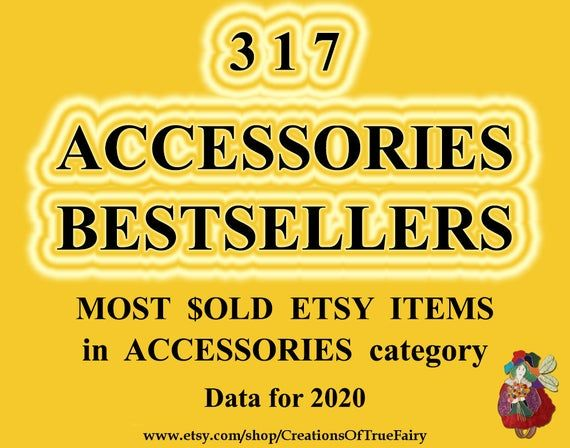Best selling items 2020 in ACCESSORIES Most sold items Most popular handmade accessories baby gifts