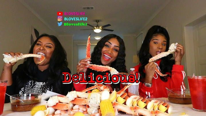 Seafood Boil With The Taylor Girlz #seafoodboil