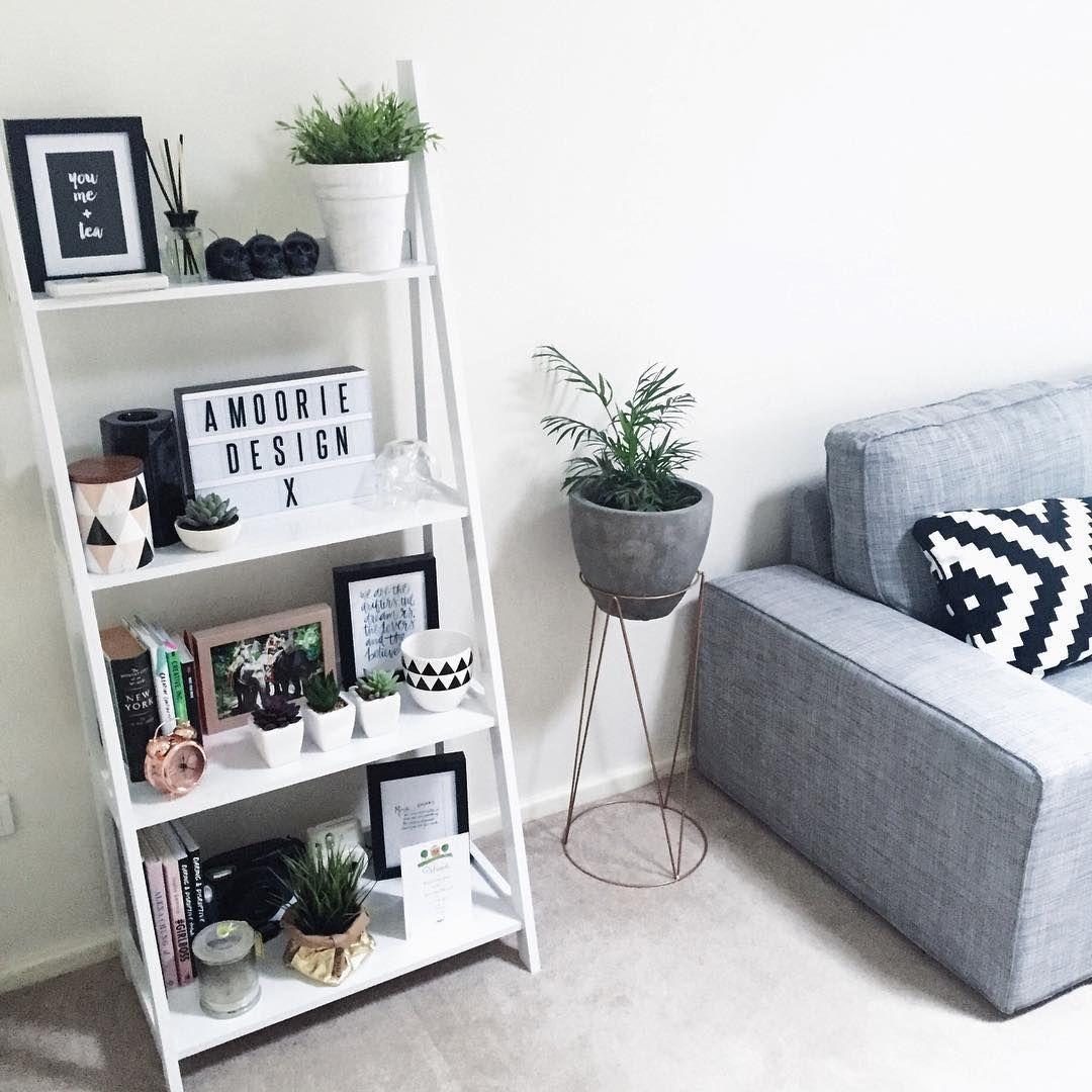 Turn A Step Ladder Into Focal Point Cosmopolitanuk Ikea Bedroom Design Living Room