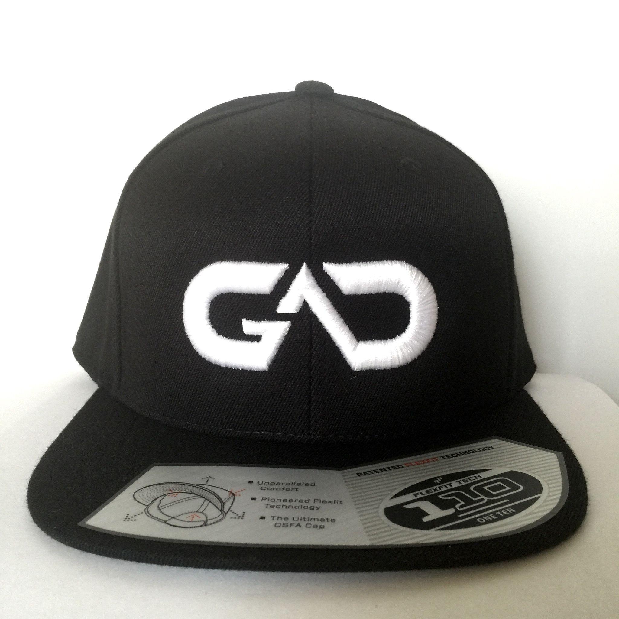 Go All Day Logo Snapback Hat Black Snapback Hats Hats Snapback