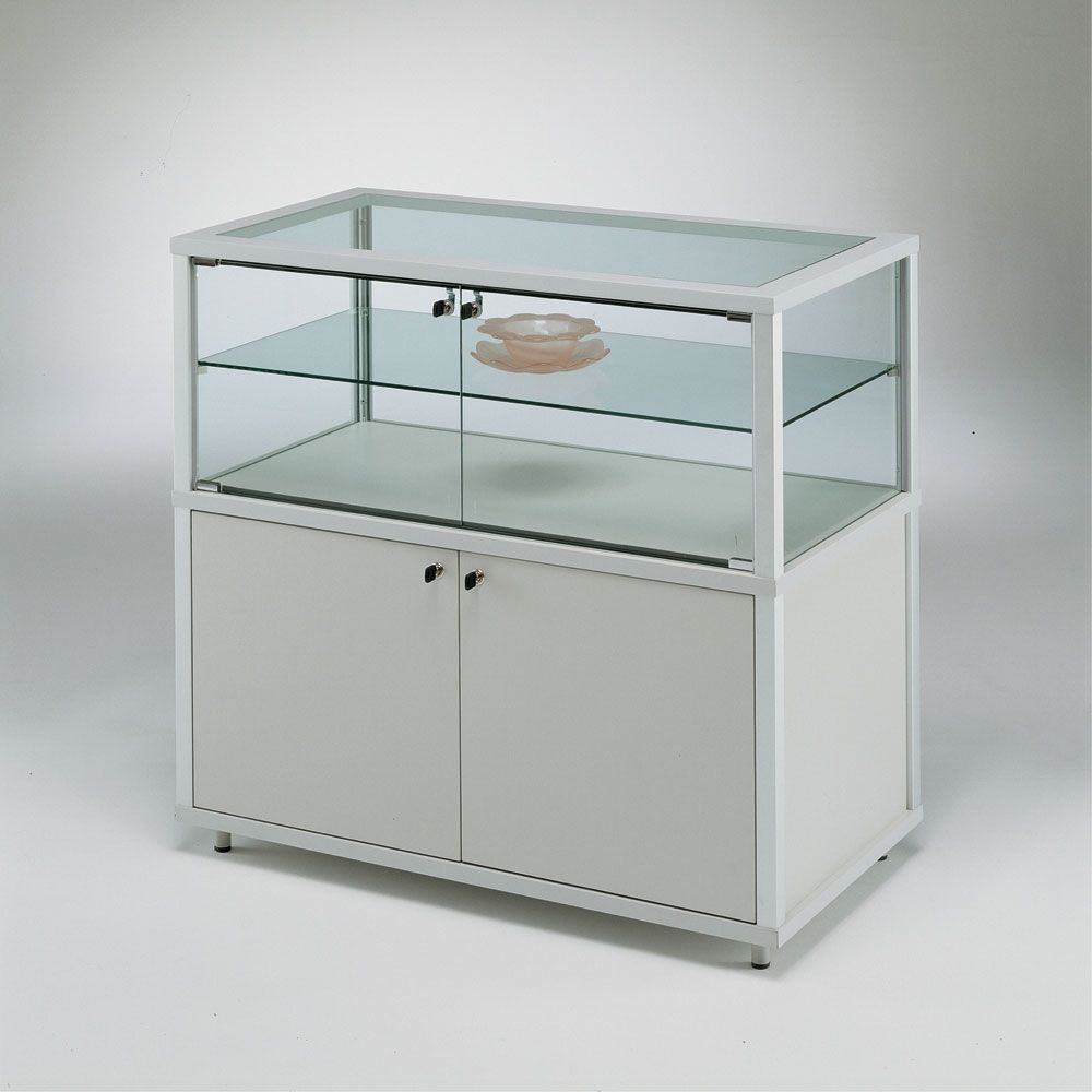Display Counters With Storage 4 Products Glass Cabinets Display Retail Counter Showcase Display