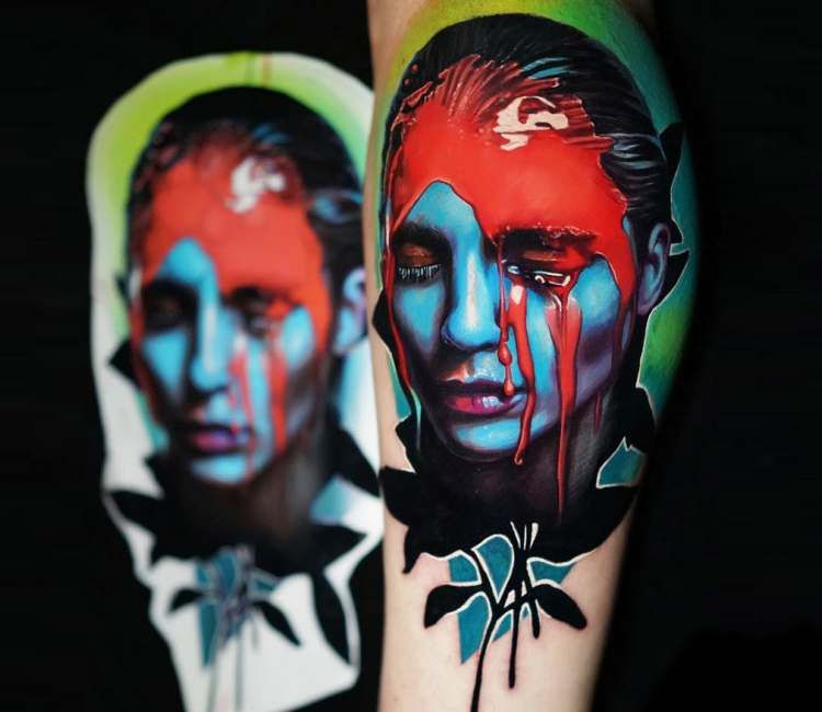Girl portrait tattoo by dave paulo portrait tattoo
