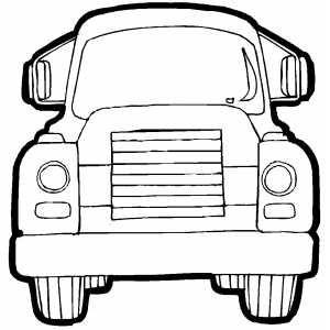 Cargo Truck Front