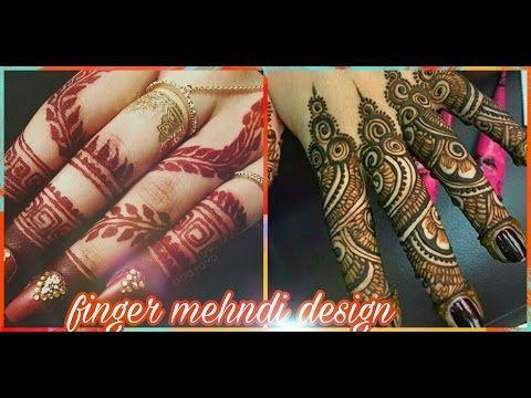 Fingers Mehndi Pics : New stylish easy mehndi henna designs for beginners beautiful