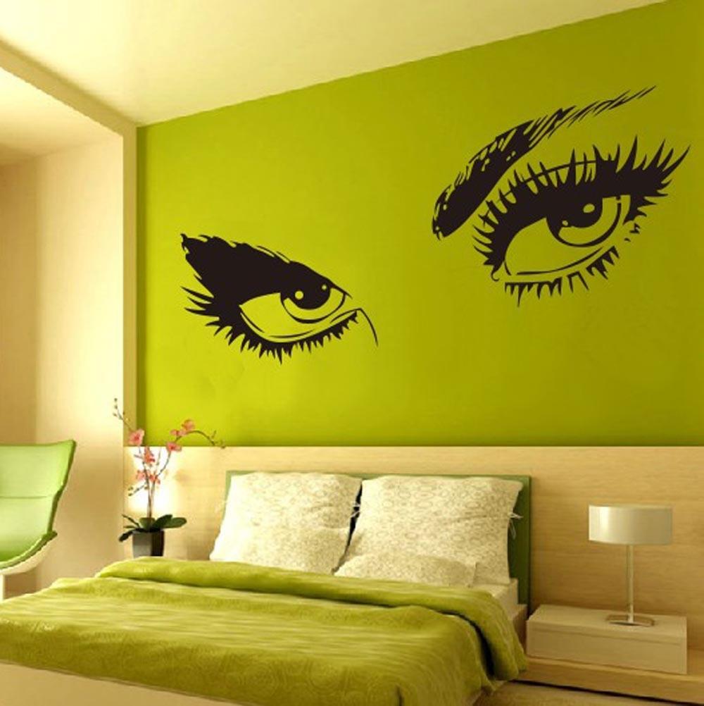 3.12$ Buy here - Audrey Hepburn\'s Sexy Eyes 3d Wall Sticker Art ...