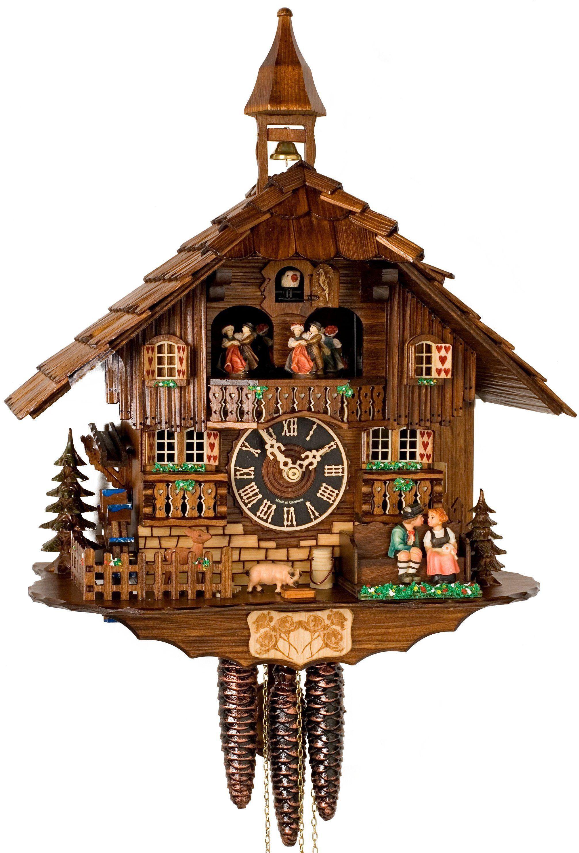 "Hones 16"" Quartz Animated Cuckoo Clock 638TQ Clock"