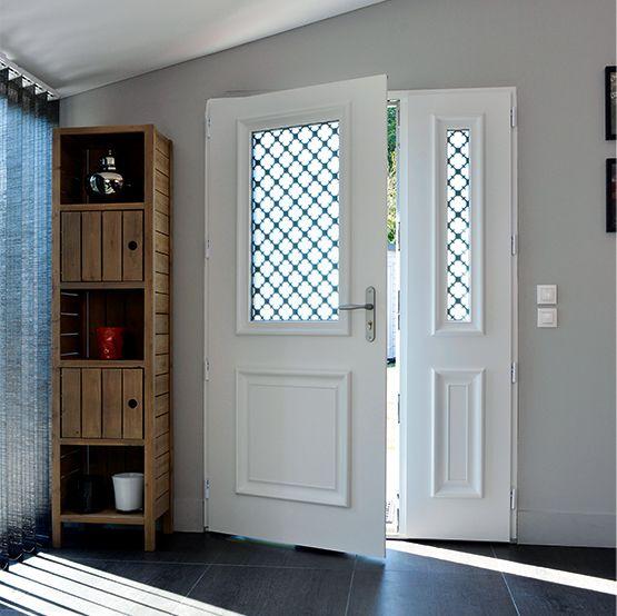Porte d 39 entr e aluminium in 2019 porte entr e porte entr e aluminium porte entree maison - Porte entree aluminium ...