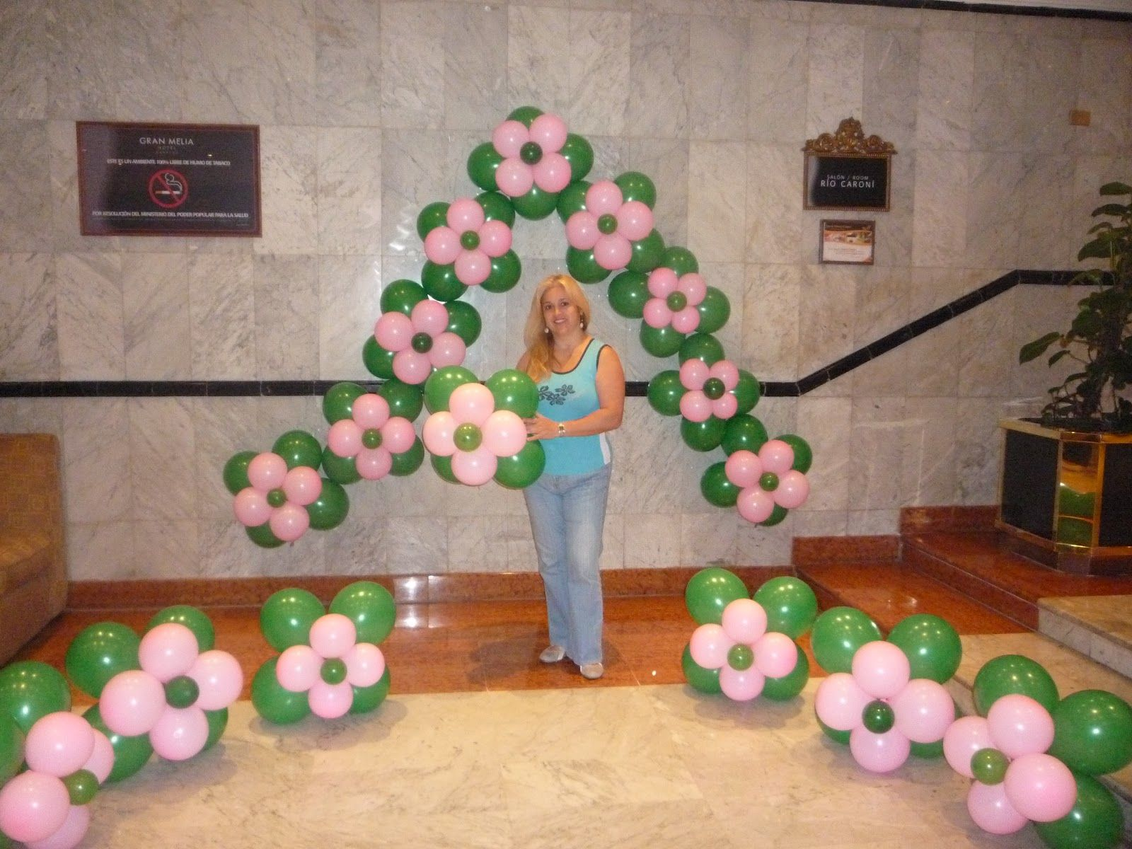 Aprender decoracion con globos curso de decoracion con - Decoracion los angeles ...