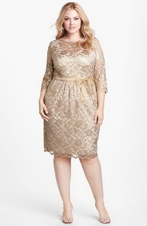plus size tea length evening dresses :http://partydressesideas2015