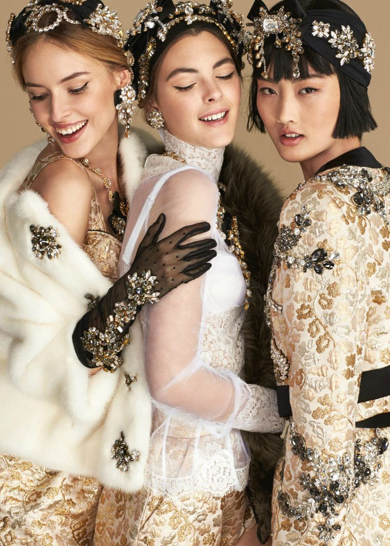 Photo of The season of romance, or Lookbook Dolce & Gabbana spring-summer …