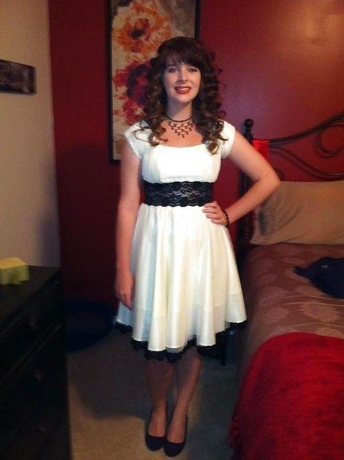 evening dress Transvestite