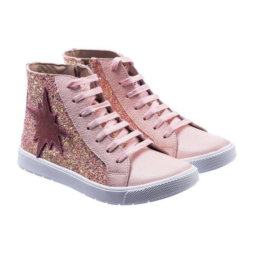 Elephantito The Rockstar Sneaker, Pink Glitter in 2020