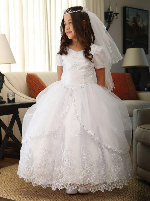 Imagenes de vestidos de primera comunion de moda