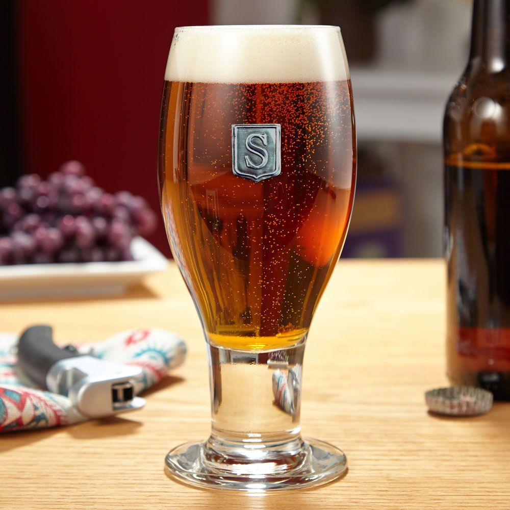 concord regal crested beer glass engraved beer glass beer glass glass pinterest