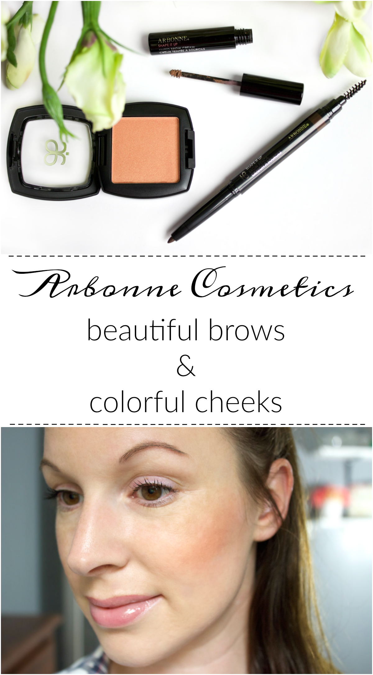 Arbonne Cosmetics Beautiful Brows & Colorful Cheeks