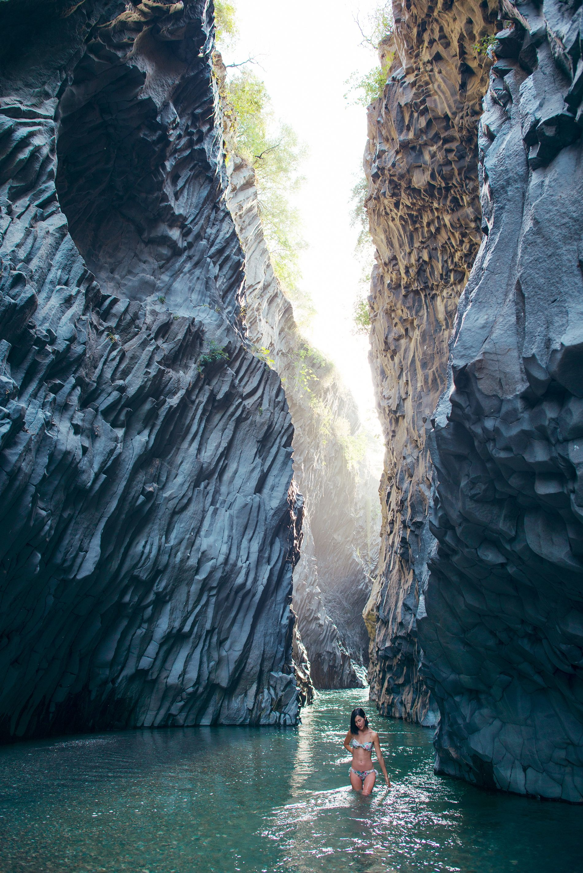 alcantara gorge sicily italy wanderlust sicily. Black Bedroom Furniture Sets. Home Design Ideas