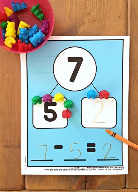 Addition and Subtraction to 20 Activities for Kids | Build math ...