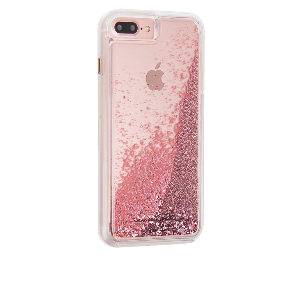 iphone 7 plus phone cases rose gold glitter