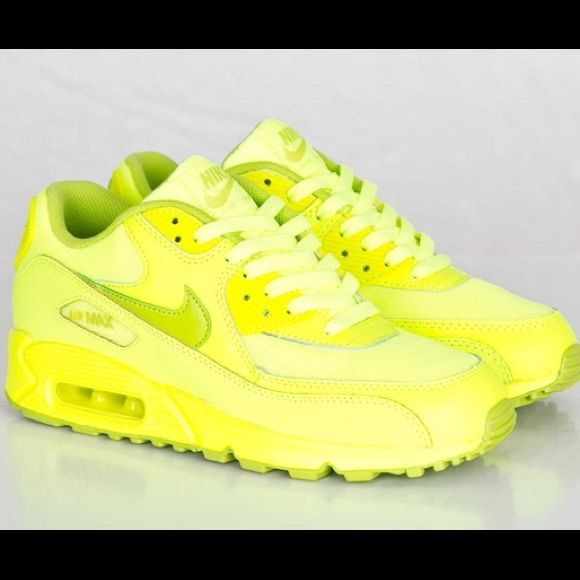 air max 90 fluorescent yellow