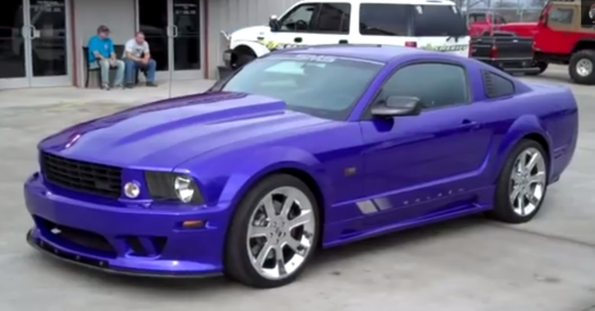 2007 Ford Mustang Saleen Clone Hot American Muscle Car 2007 Ford Mustang Ford Mustang Saleen Ford Mustang
