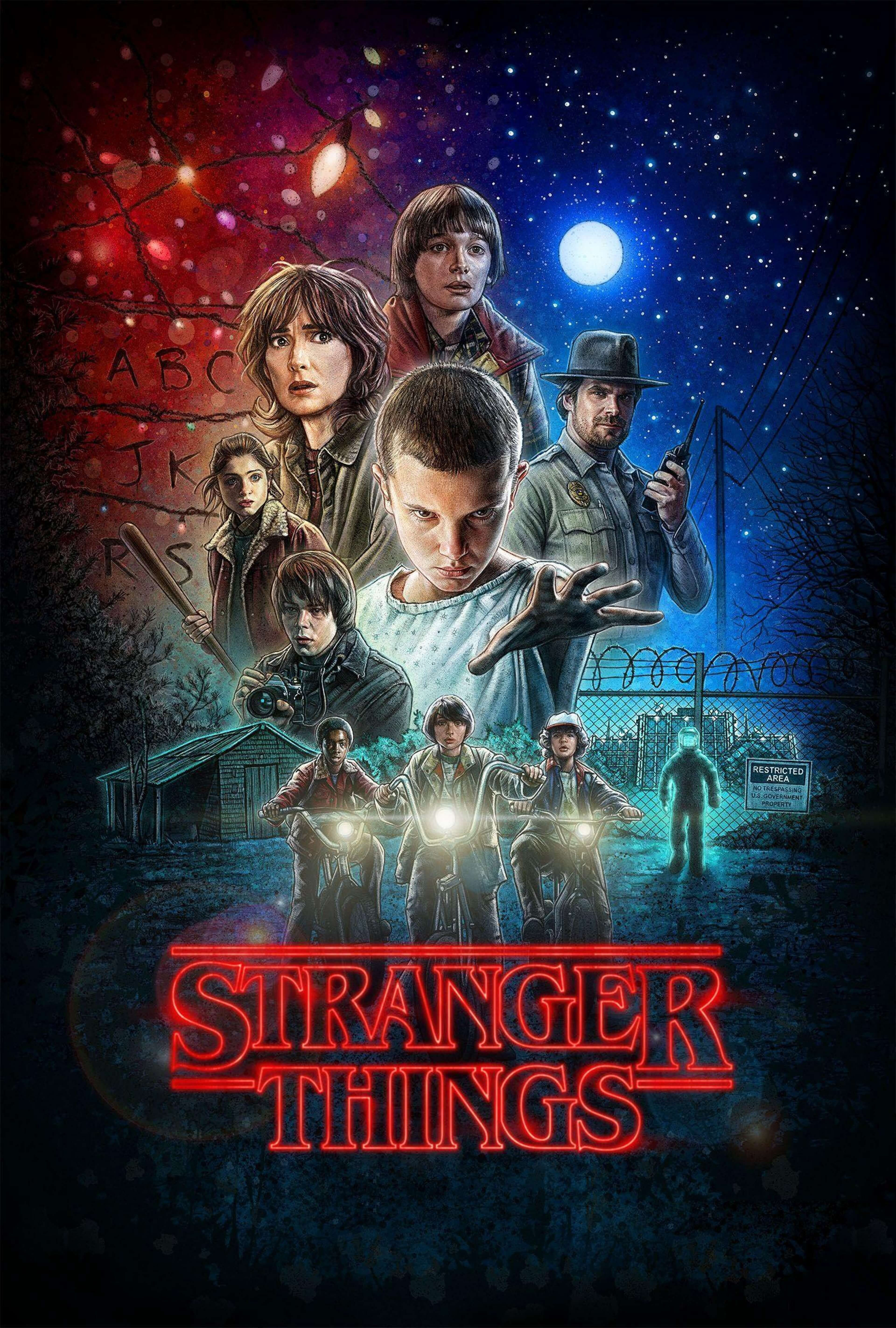 Best Stranger Things Wallpapers 4K HD Stranger things