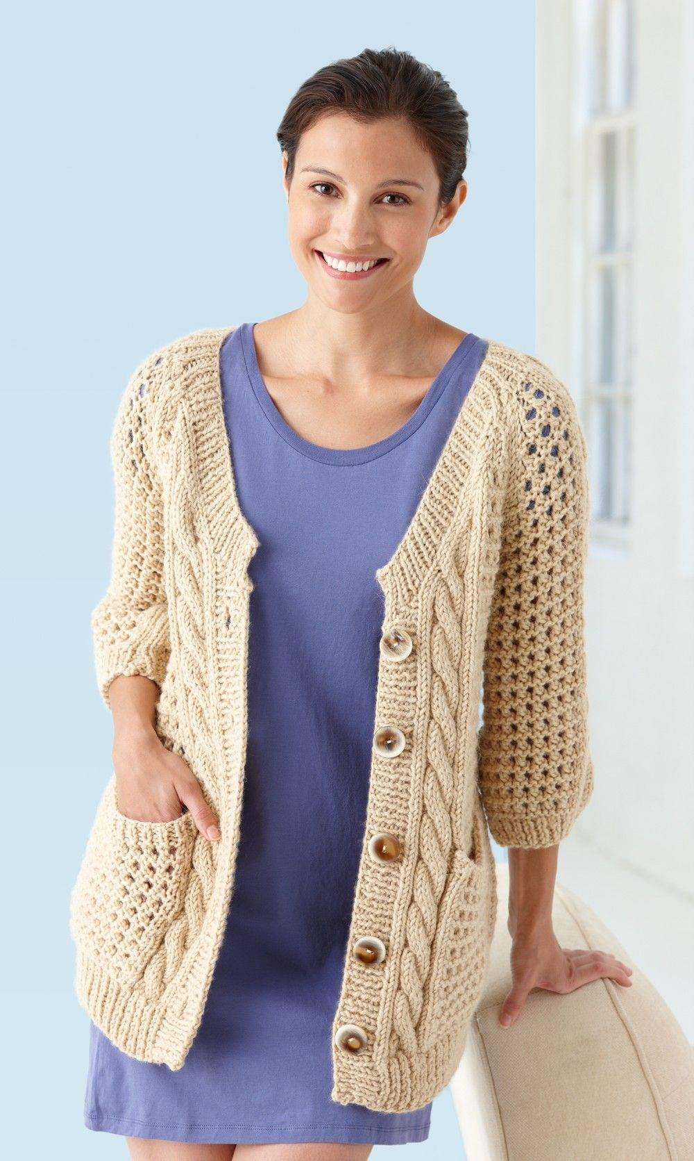 Cables and lace cardigan knit knitting projects pinterest cables and lace cardigan knit bankloansurffo Image collections