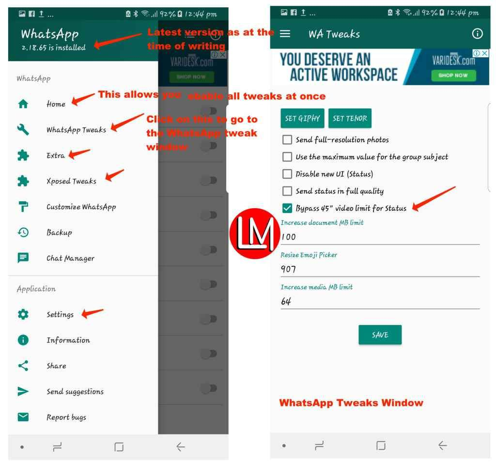 Extend Whatsapp Status Time From 30 Seconds To As Long As 7
