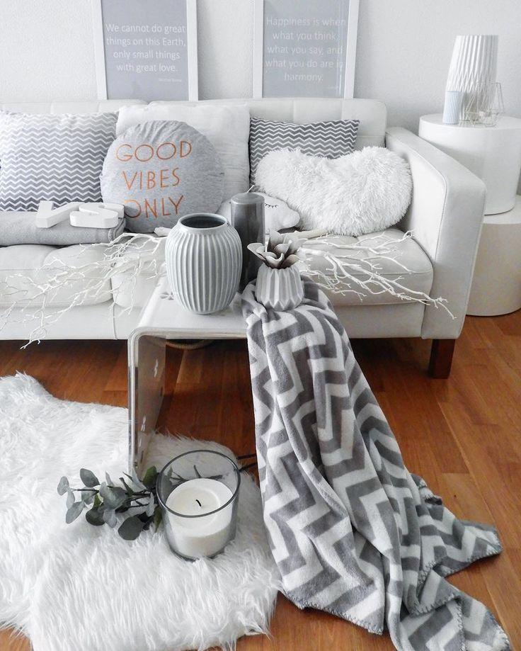 Grau überzeugt auf ganzer Linie! Denn keine andere Farbe wirkt so - wohnzimmer modern grau