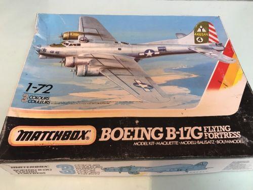 Matchbox 1 72 Pk 603 Boeing B 17g Flying Fortress Vintage Model