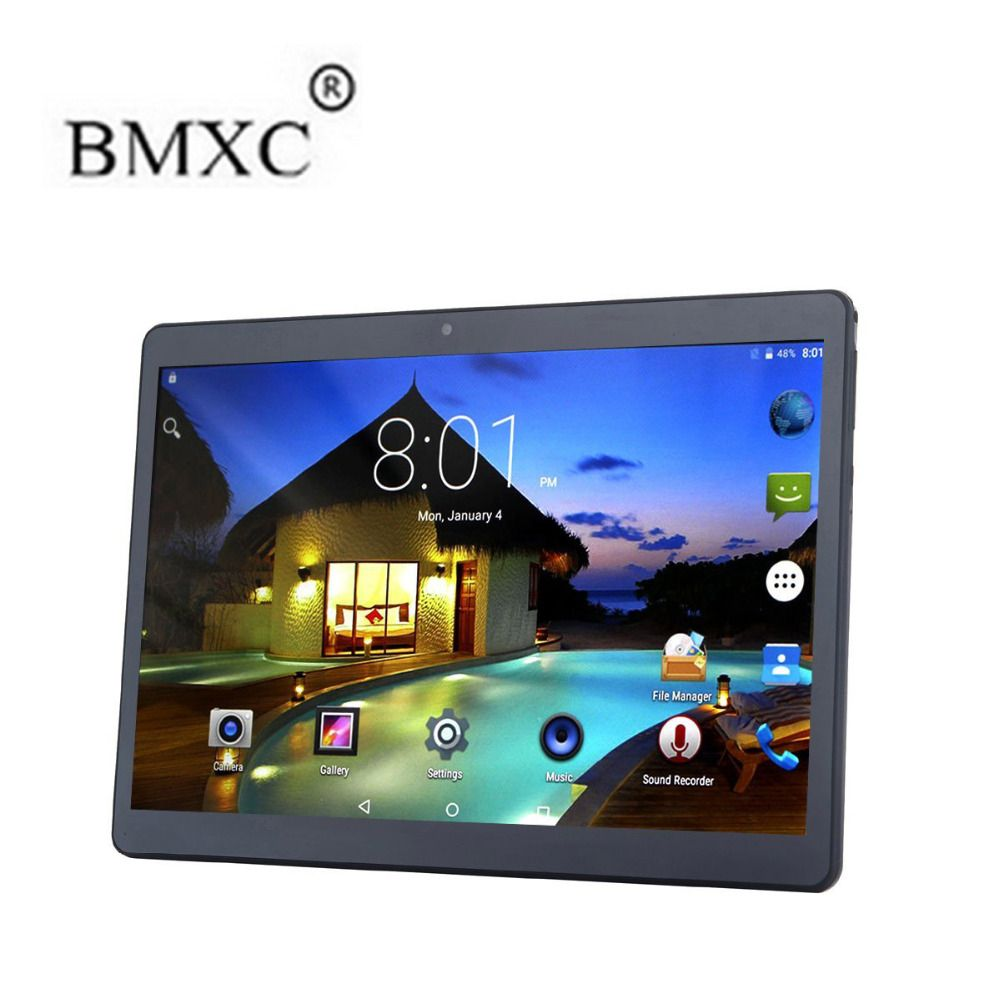 Bmxc 10 1 Inch Octa Core 4g Lte Tablet Android 6 0 Ram 2gb Rom 32gb 5 0mp Dual Sim Card Bluetooth Gps Wifi 10 Inch 1280 Tablet Bluetooth Gps Phablet