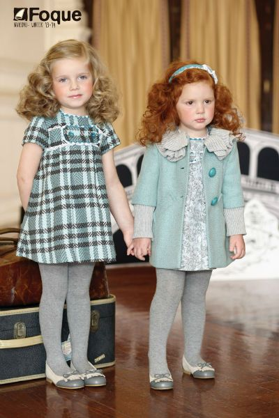 moda infantil foque otono-invierno