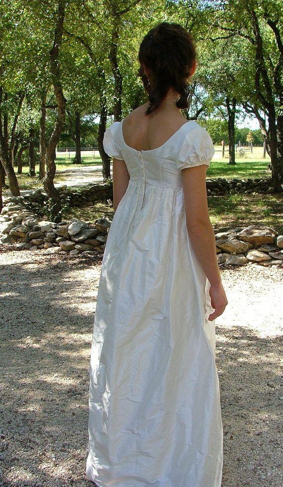 jane austen ball gowns   Regency Jane Austen Wedding Dress or Ball ...