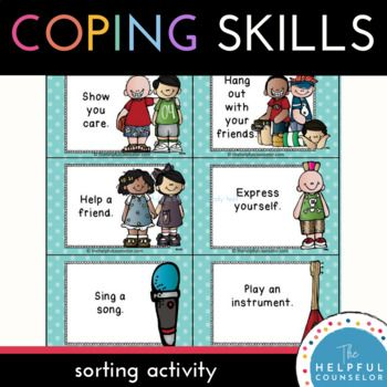Coping Skills Making Good Choices Activity Click To Check Out The Preview Coping Skills Coping Skills Activities Social Skills Games