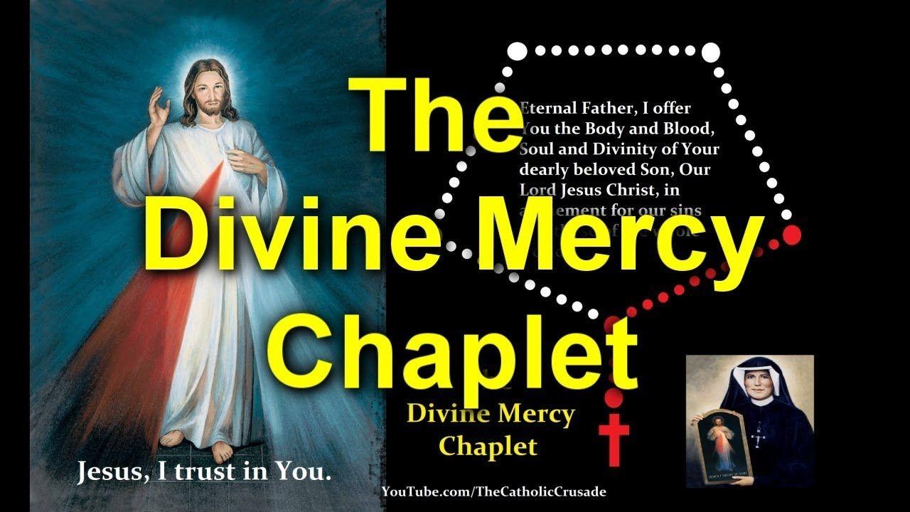 Divine mercy chaplet spoken virtual youtube divine