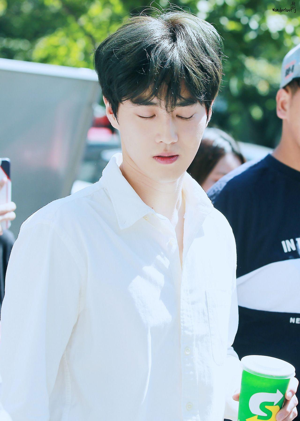 170915 SUHO EXO OUTSIDE KBS SUHO Di 2018 Pinterest EXO Suho
