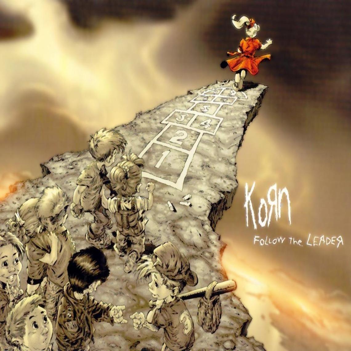 Korn Follow The Leader Korn Album Art Music Album Cover