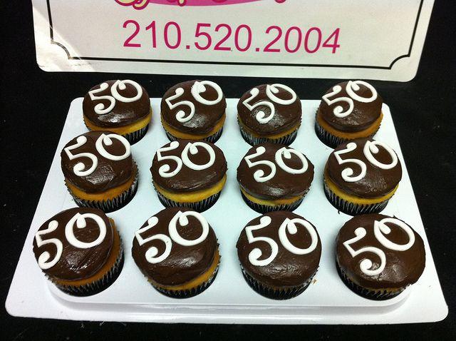 50th Birthday Cupcakes 50th Birthday Cupcakes Cupcakes For Men