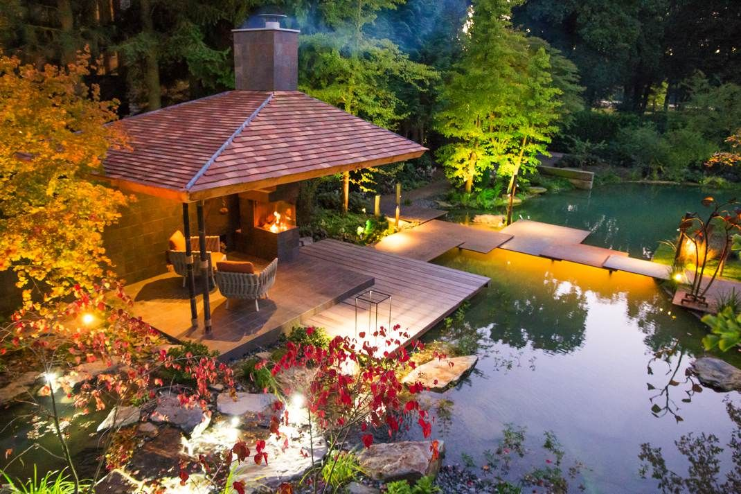 Van mierlo tuinen exclusieve japanse watertuin hoog
