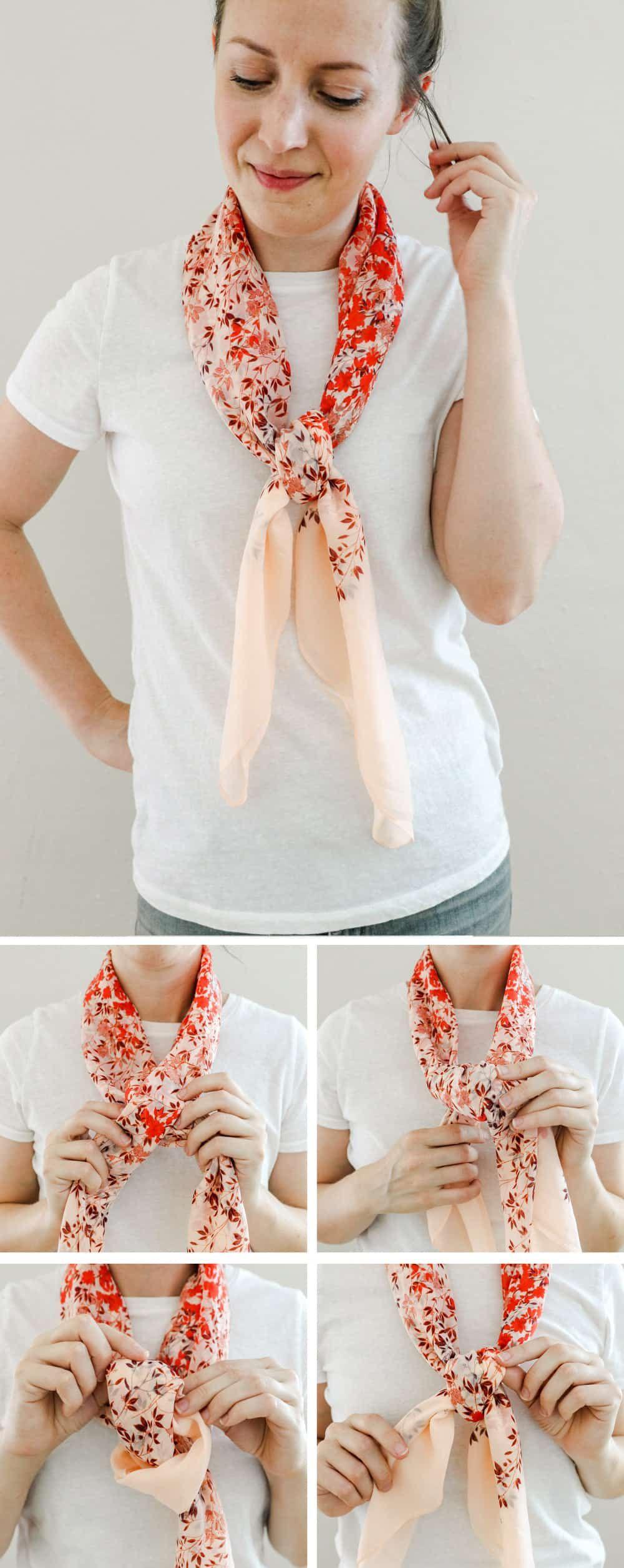 19 super stylish ways to tie a scarf ways to tie scarves