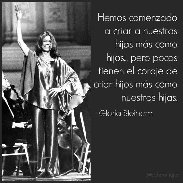 Gloria Steinem Frases Buscar Con Google Gloria Steinem