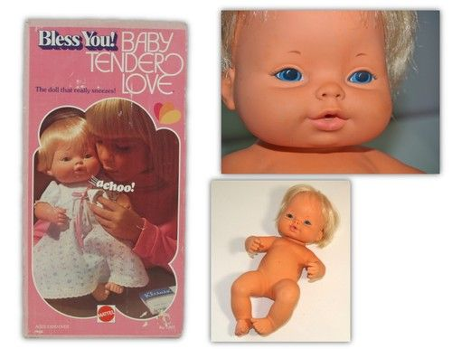 Baby Tender Love With Box Bless You Sneezes Press Tummy