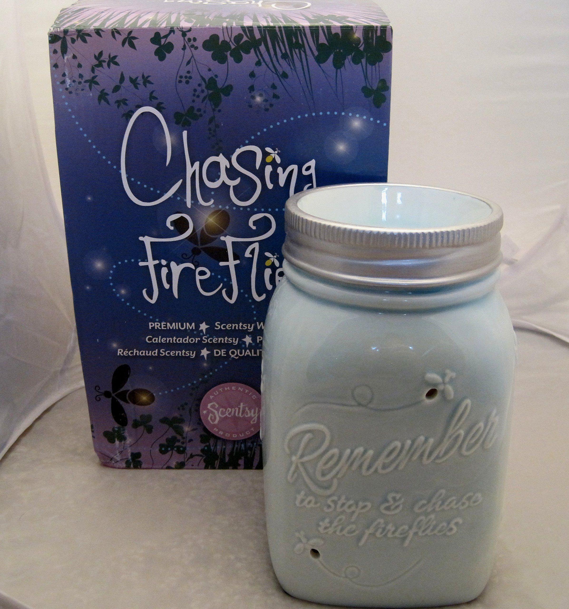 Amazon com - Scentsy Warmer, Chasing Fireflies, Mason Jar