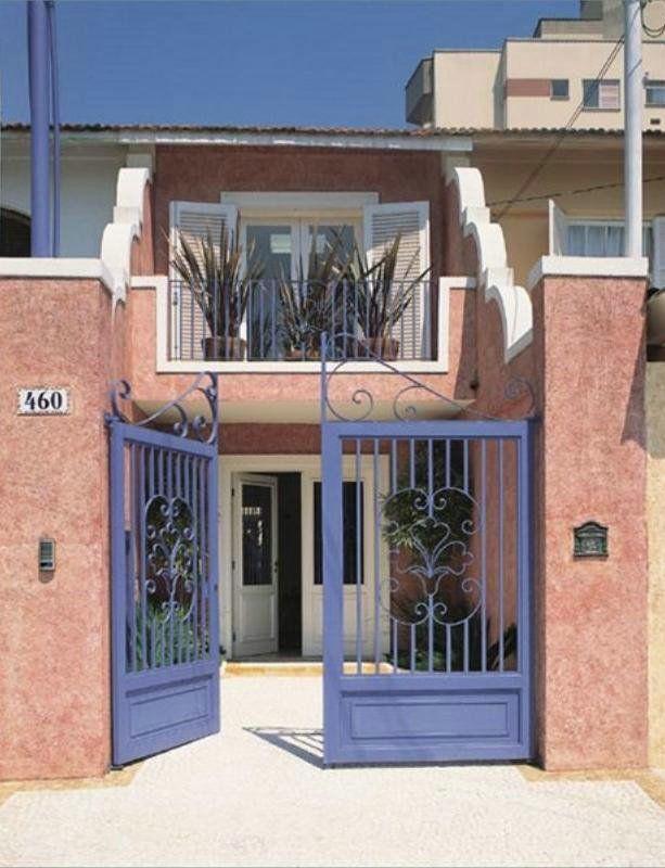 Fachada de sobrado maquete eletronica 3d design for Fachadas de apartamentos pequenos
